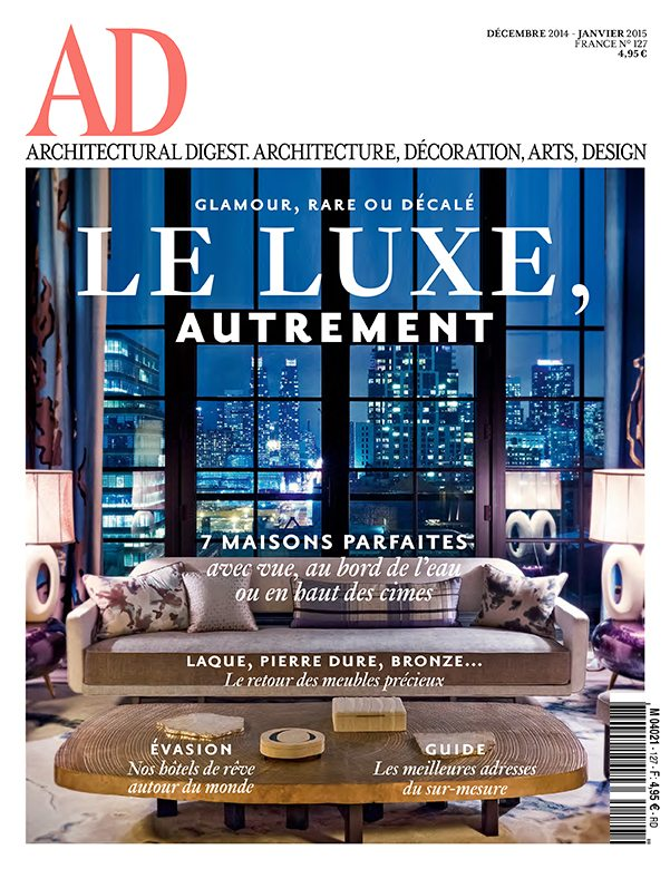 AD France cover and page 2-1