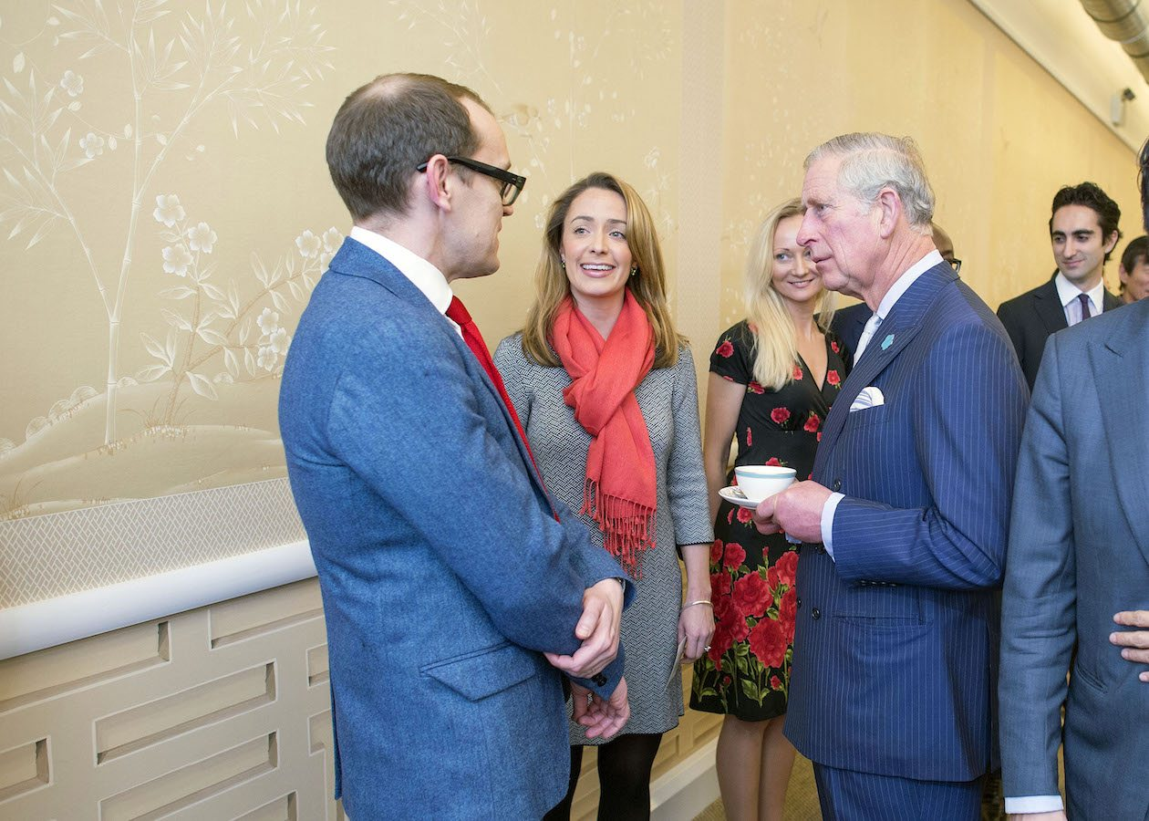 Mingling with Royalty at the China Exchange