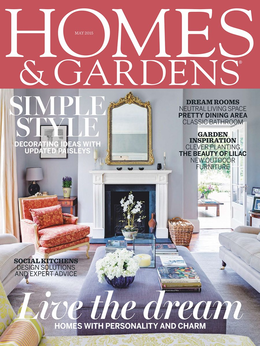 Homes Gardens May_Cover