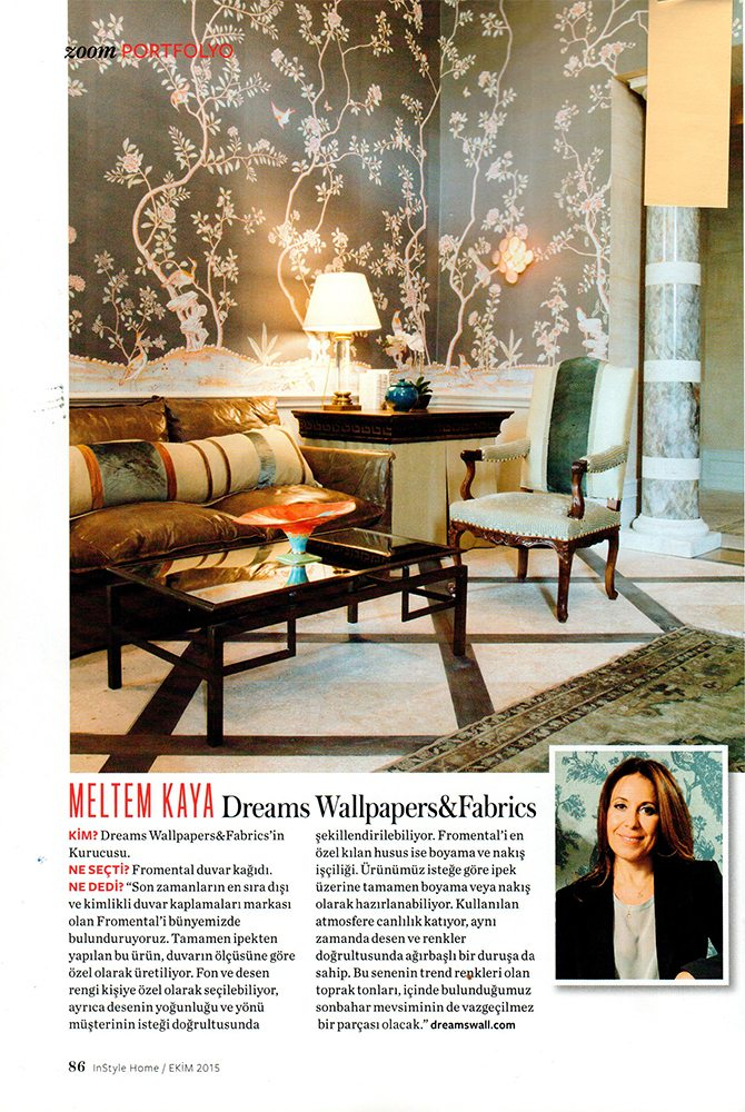 InStyle Turkey page