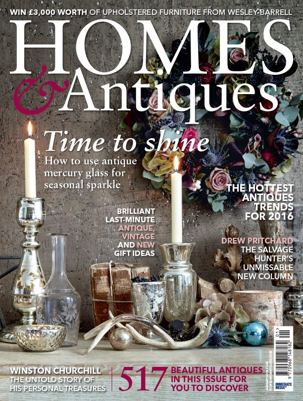 Homes Antiques cover
