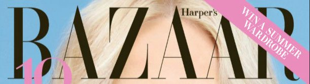 Harpers cover title